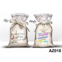 (AZ018) Boldog 30. szülinapot - Ajándék ötletek 30. szülinapra – Álom zsák