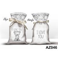 (AZ046) I love you Nevlini – Valentin napi ajándék – Szerelmes ajándékok