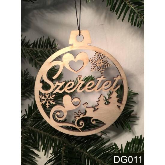 Karácsonyi ajándék ötletek | Karácsonyfa dísz | Nevesajandek.hu