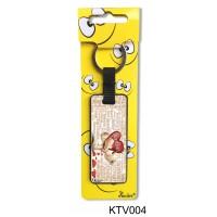 (KTV004) Szeretlek szavakkal - Szerelmes ajándék – Vicces kulcstartó