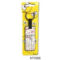 (KTV005) Téged Szeretlek - Vicces ajándék – Vicces kulcstartó