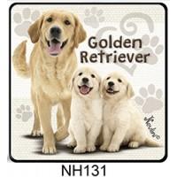 (NH131) Golden Retriever – Kutyás Hűtőmágnes – Kutyásoknak ajándék