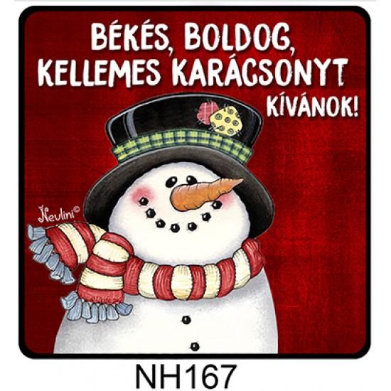 Karácsonyi ajándék ötletek | Karácsonyi hűtőmágnes | Nevesajandek.hu