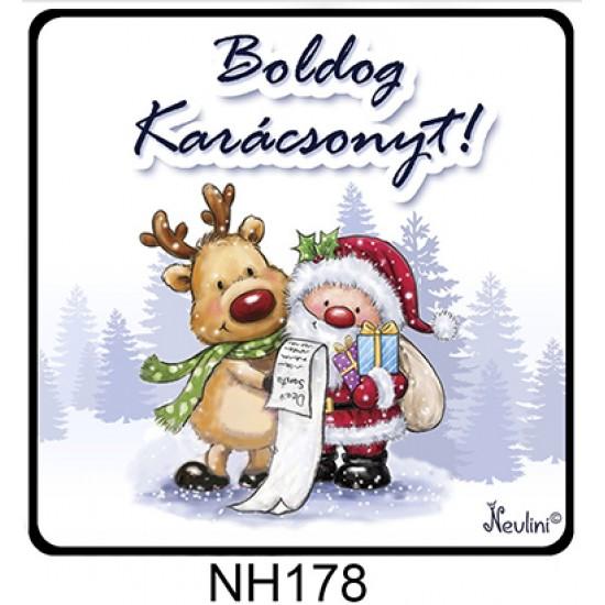Karácsonyi ajándék ötletek   Karácsonyi hűtőmágnes   Nevesajandek.hu