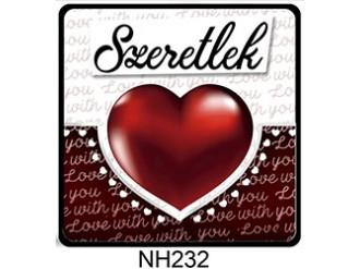 70fca60c27 (NH232) Love with you - Hűtőmágnes - Szerelmes Ajándék