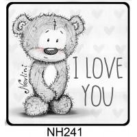 (NH241) I love you Nevlini – Valentin napi ajándék – Szerelmes ajándékok
