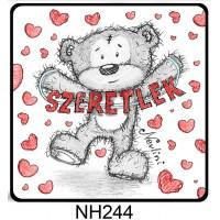 (NH244) Szeretlek feliratos Nevlini – Valentin napi ajándék – Szerelmes ajándékok