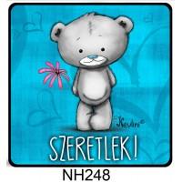 (NH248) Szürke Maci szeretlek – Valentin napi ajándék – Szerelmes ajándékok