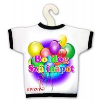 Születésnapi üvegpólók